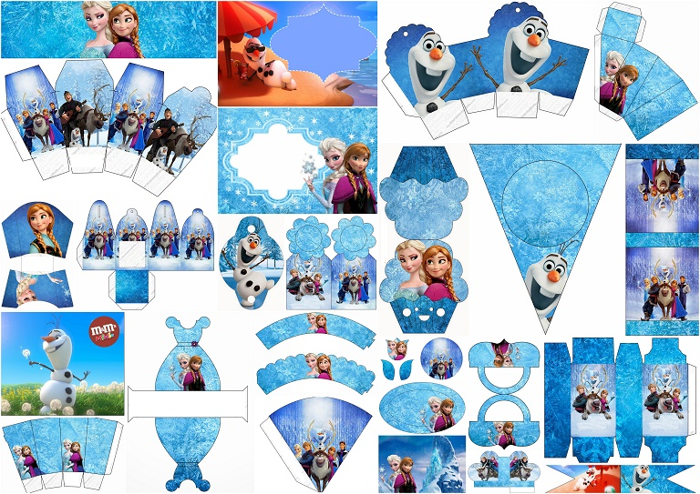 picture about Frozen Free Printable called Frozen: Absolutely free Printable Playing cards or Social gathering Invites. - Oh My