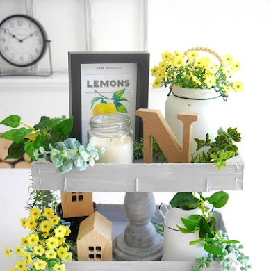 DIY Farmhouse Summer Decor