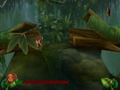 لعبة طرزان القديمة Tarzan للكمبيوتر