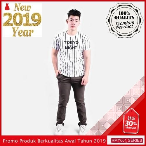 RMY137C32 Celana Panjang Chino Casual Keren Diesel Brown BMGShop