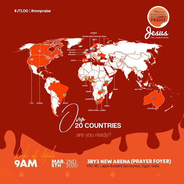 RCCG 78 Hours Marathon Praise 2020 - DAY 1 [Live]