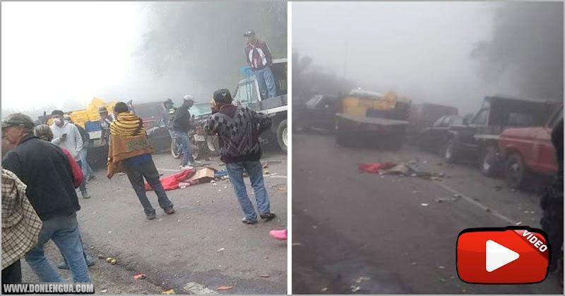 VÍCTIMA DE MADURO | Niña de 14 años falleció en un accidente en la cola para la gasolina
