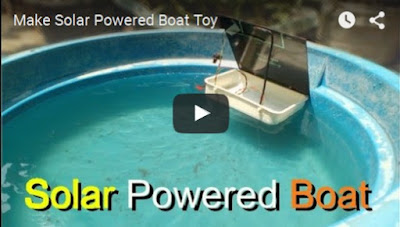 Make Solar Powered Boat Toy