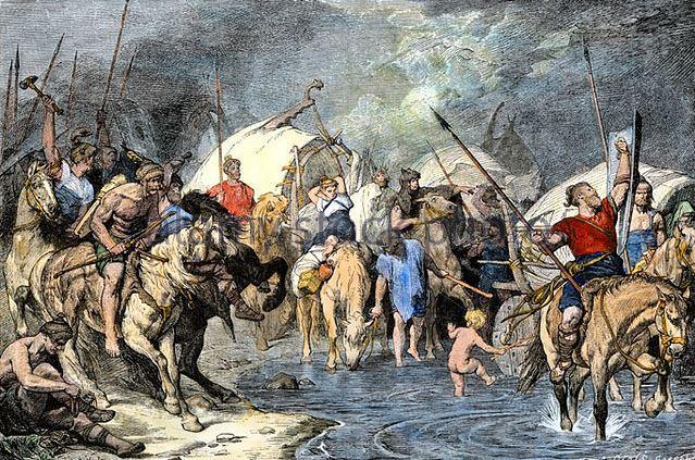 Cimbri people migration