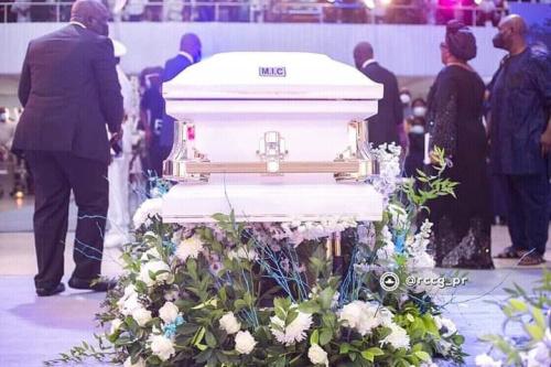 Photos from Pastor Dare Adeboye's Burial