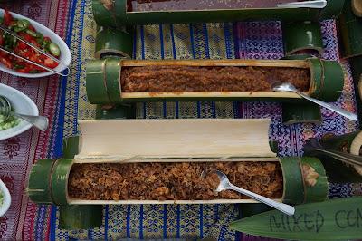 Ayam Pansuh, menu dayak di Hotel Hilton Miri