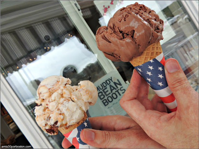 Lobster Shacks en Massachusetts: Helados Giffords en el Woodman's of Essex