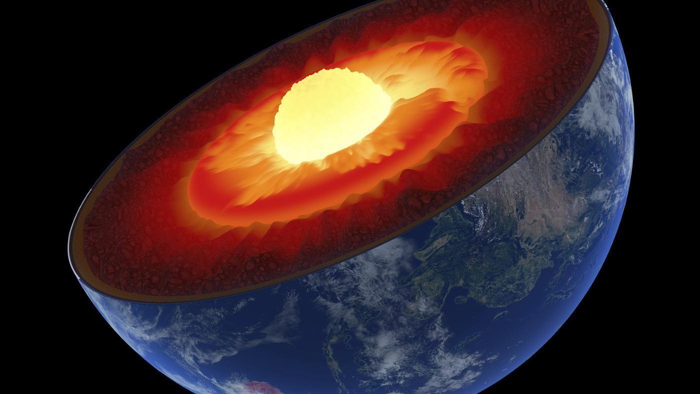 Centro da Terra segundo a pseudo ciência