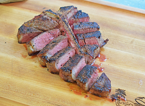 Certified Angus Beef Brand T-bone Steak #BestAngusBeef