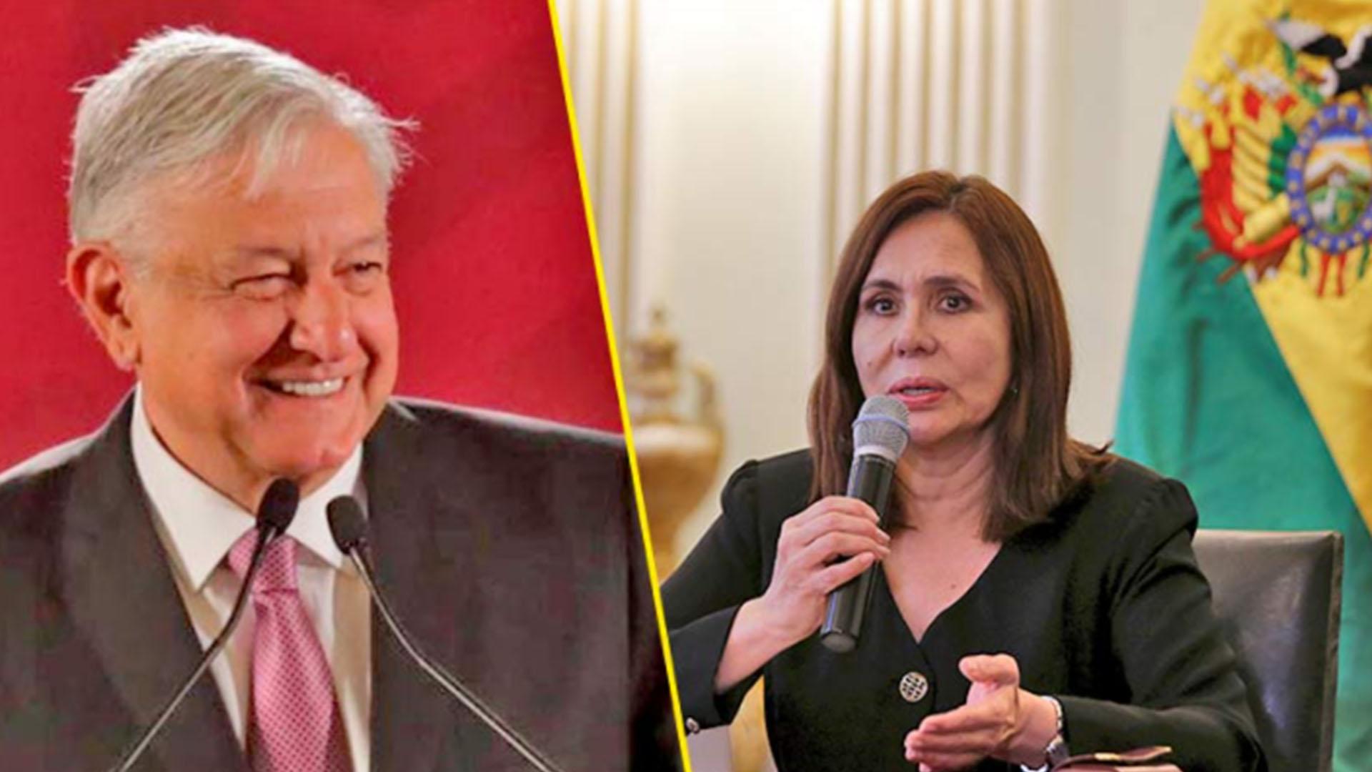 Ahora la canciller de Bolivia acusa a AMLO de intervenir en sus elecciones: «arbitrario y arrogante», dice