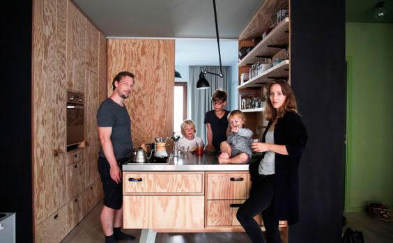 Lo Último en Mobiliario de Cocina. Las Cocinas de Madera