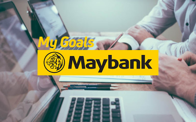 cara gunakan my goals maybank2u