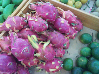 Fruit du dragon. Pitahaya fruits (Thanh Long)
