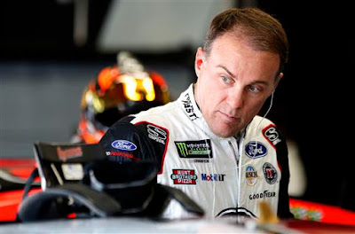 Kevin Harvick was 22nd fastest in opening practice for the Monster Energy NASCAR Cup Series Bank of America ROVAL 400 at Charlotte Motor Speedway (100.223 mph).