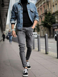 How to wear men's jeans Tuesday, Tuesday