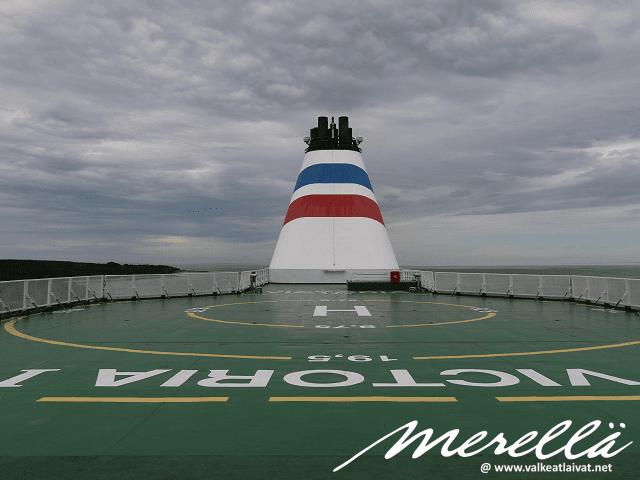 Tallink Victoria helikopterikansi