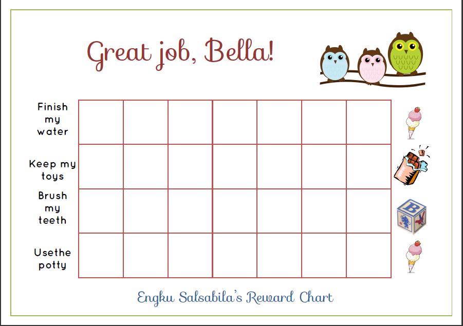Reward chart blank template search results calendar 2015 for Star chart for kids template