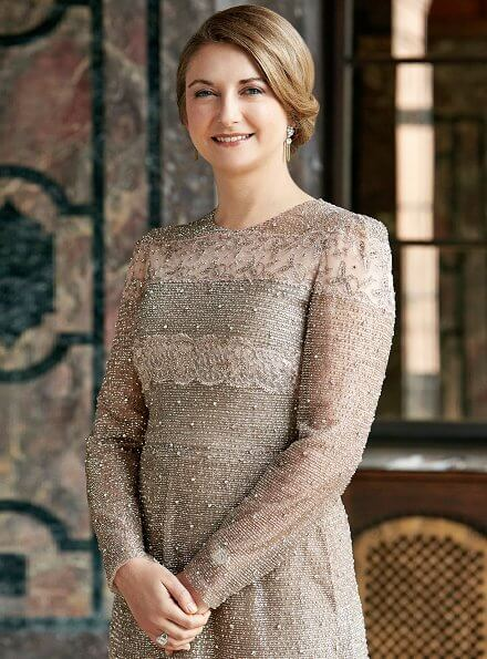 Hereditary Grand Duchess Stephanie is pregnant with her first child and it is expected that the birth will take place in May