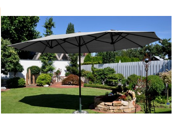 prix parasol jardin inclinables rectangulaires d port s parasol pas cher bonnes affaires. Black Bedroom Furniture Sets. Home Design Ideas