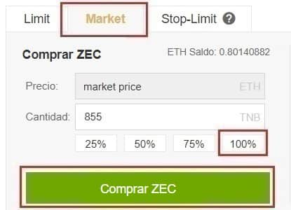 Comprar e Invertir en Moneda Virtual Zcash (ZEC)