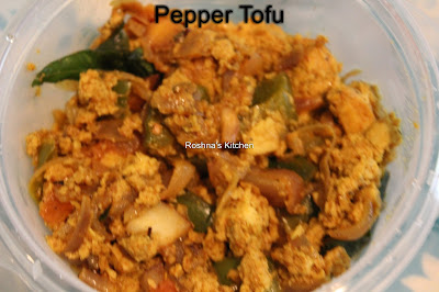 Pepper Tofu