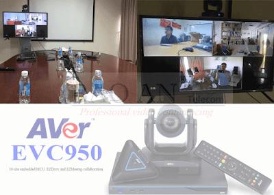 AVer EVC950 hội nghị truyền hình tại điểm trung tâm