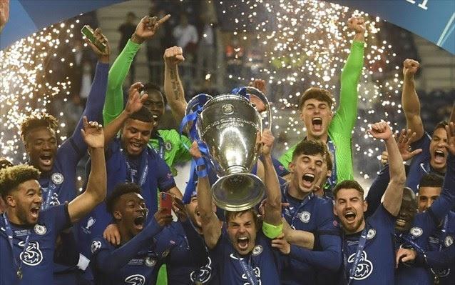Το Αφηρημένο Blog: Champions League: Πρωταθλήτρια Ευρώπης η Τσέλσι