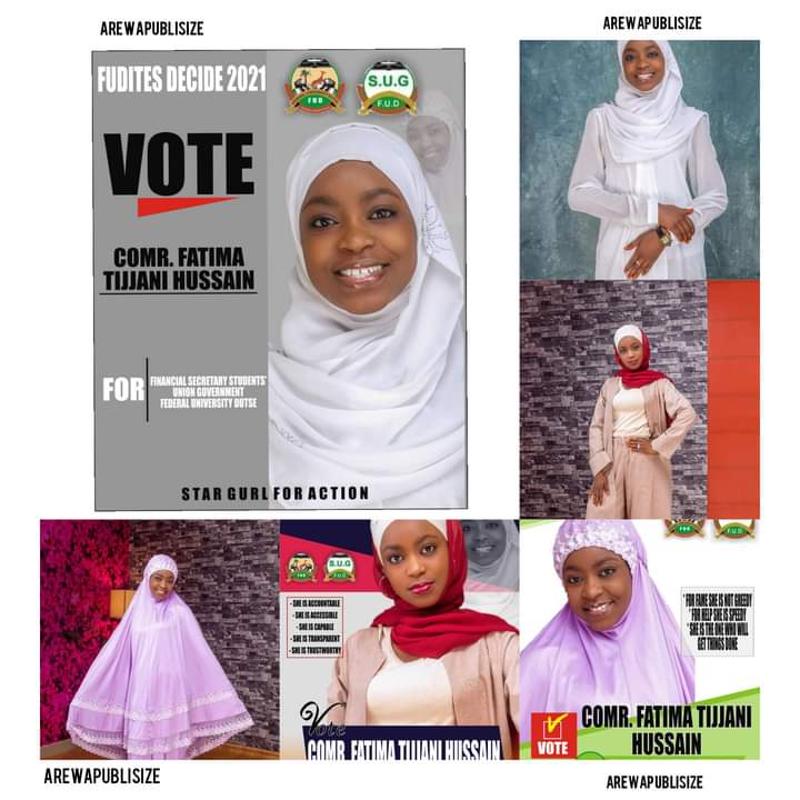 [FUD DUTSE ELECTIONS] meet the Female student likely to win a spot in the FUD SUG elections - shocking news!!!!!! #Arewapublisize