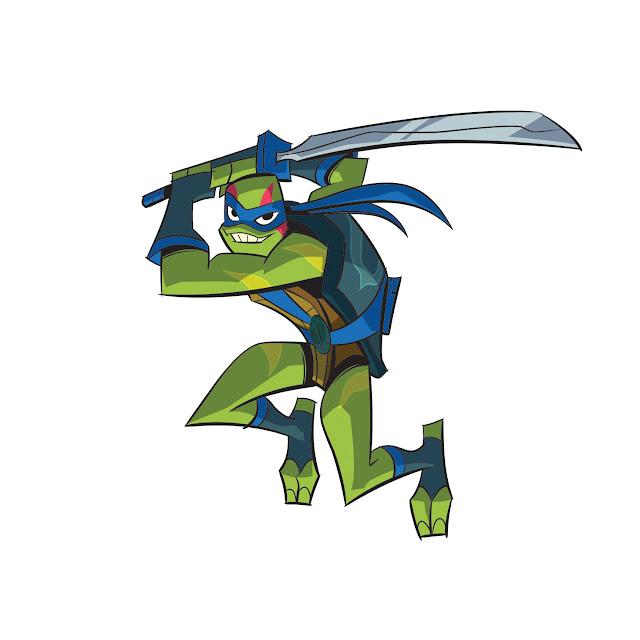 Tartarugas Ninja Leonardo