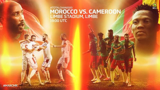 نصف نهائي كأس الأمم الأفريقية للاعبين المحليين