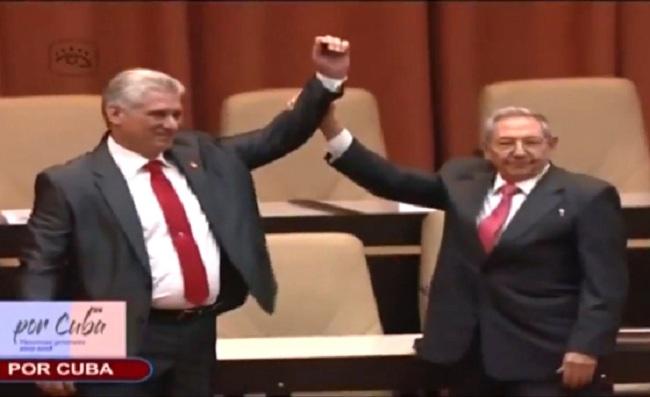 Asamblea Nacional eligió por unanimidad al sucesor de la era castrista / CAPTURA PANTALLA