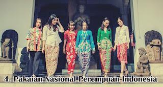 Pakaian Nasional Perempuan Indonesia