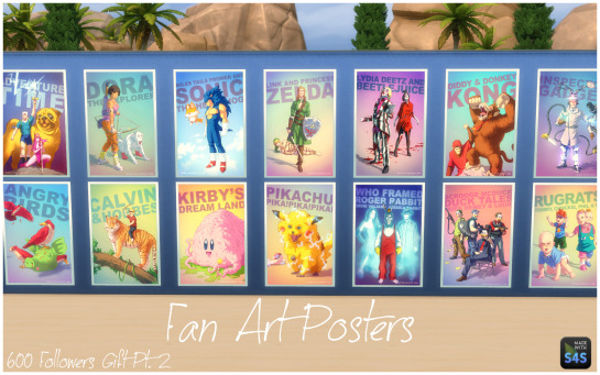 My Sims 4 Blog: Twisted Princess & Fan Art Posters by ... Sims 1 Objects