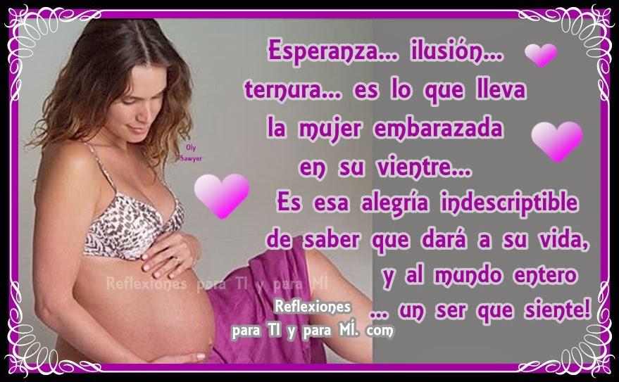 Fotos De Embarazadas Tiernas Con Frases