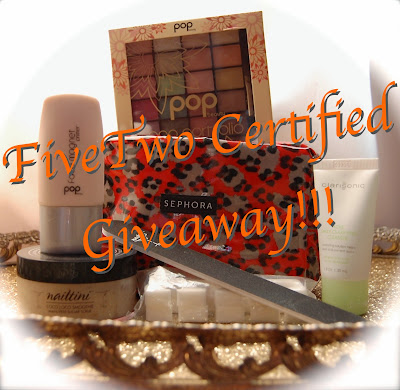 Just Because + FiveTwo Certified GIVEAWAY!!!