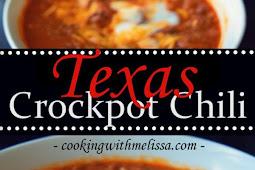 Texas Crockpot Chili Recipe