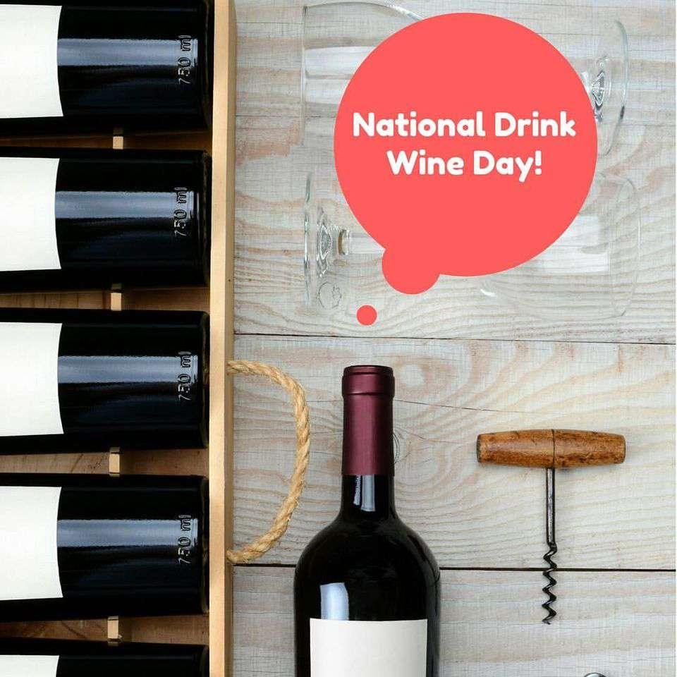 National Drink Wine Day Wishes Images download