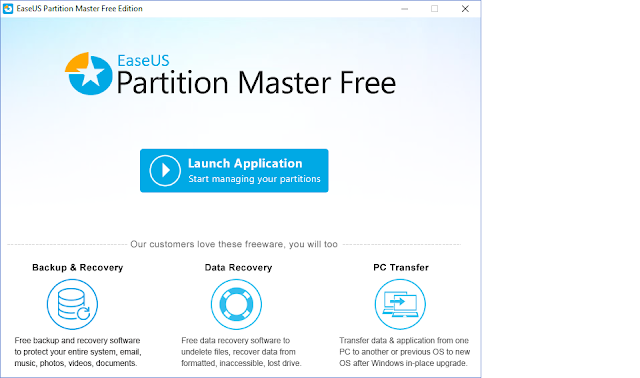 Partition Manager for Windows