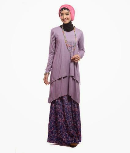 Contoh Baju Muslim Lebaran untuk Muslimah