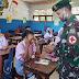 Satgas Yonif 413 Bremoro Berikan Pengetahuan Kesehatan Kepada Siswa SMA Jayapura