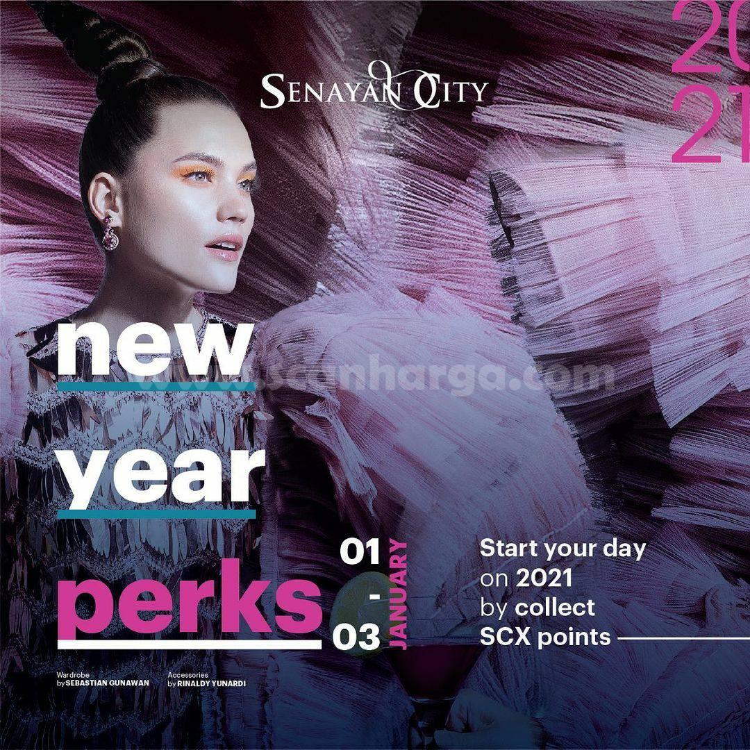 SENAYAN CITY NEW YEAR PERKS! Exclusive for SCX Member