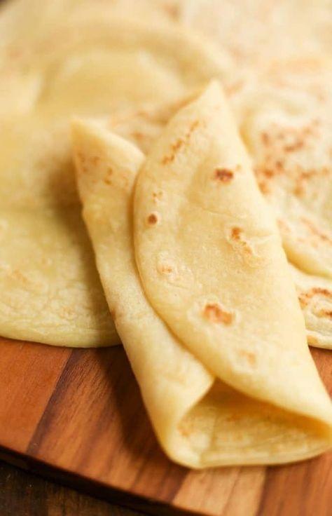 3 Ingredient Grain Free Tortillas