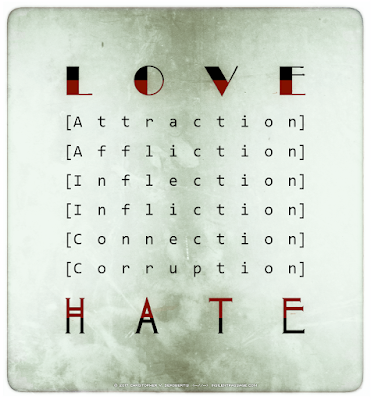 Love-Hate 2 Copyright 2017 Christopher V. DeRobertis. All rights reserved. insilentpassage.com