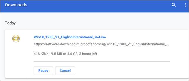 كيفية استئناف تحميل الملفات المتوقفة في متصفح جوجل كروم