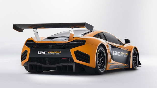 McLAREN 12C CAN-AM EDITION RACING CONCEPT  back side