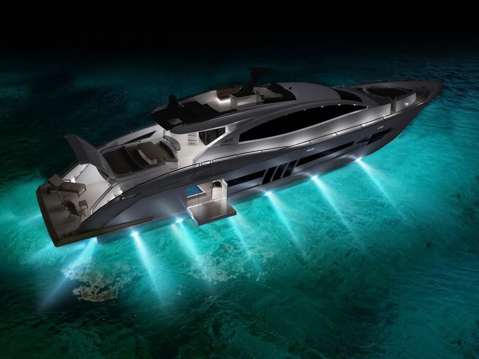 Luxurious Design Luxury Yachts Bellisima