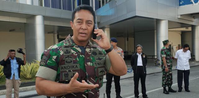 KSAD Jenderal Andika Minta Markas Tentara Ditutup Saat Unjuk Rasa, Kenapa?