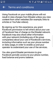 You Now Get Free Access To The Internet With The Etisalat Free Basics From Facebook