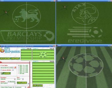 برنامج لتركيب ملعب دوري ابطال اوروبا 2014 وملاعب اخرى,برنامج رائع ومميز - موقع ميكانو