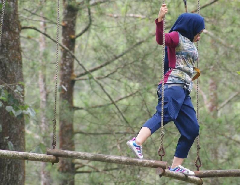 8 Spot Flying Fox Mendebarkan di Tanah Jawa